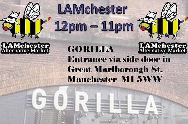 LAMchester flyer for Gorilla, 26-09-21